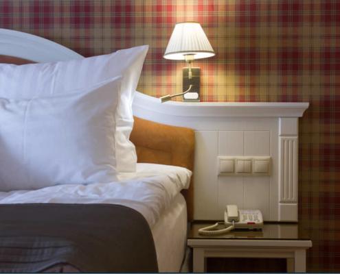 Romantische hotel kamer