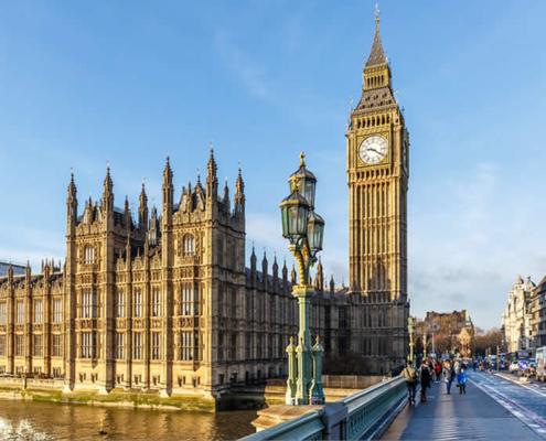 Londen Westminster Bridge
